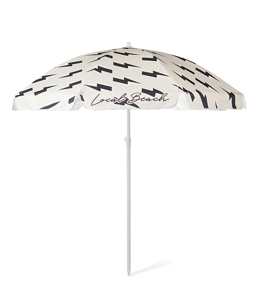 Lightning Bolt Beach Umbrella