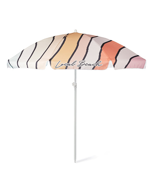 Wavy Beach Umbrella