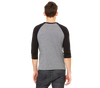 K-38 - Mens 3/4 Sleeve Baseball Tee