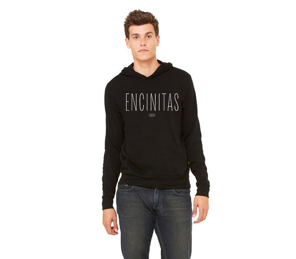 Encinitas - Unisex Relaxed Fit Pullover Hoodie