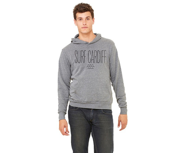 Surf Cardiff- Unisex Pullover Hoodie