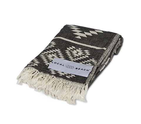 Tulum Towel Black