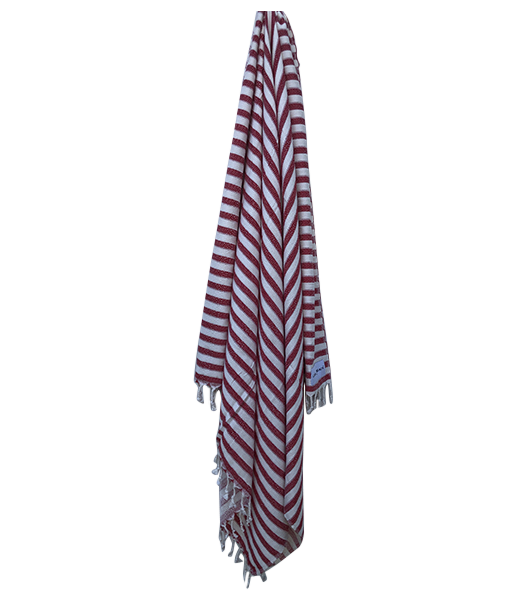 Laguna Towel Red