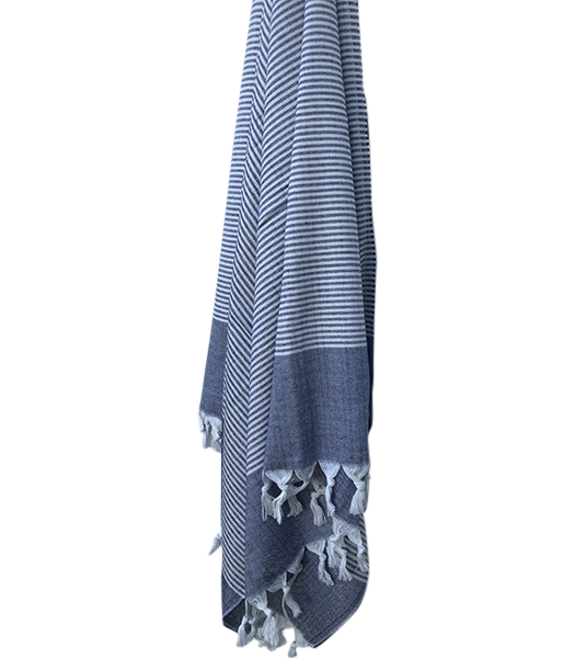 Solana Towel Navy