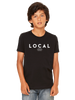 Local Kids T-Shirt in Black