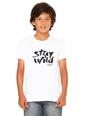 Stay Wild Kids T-shirt