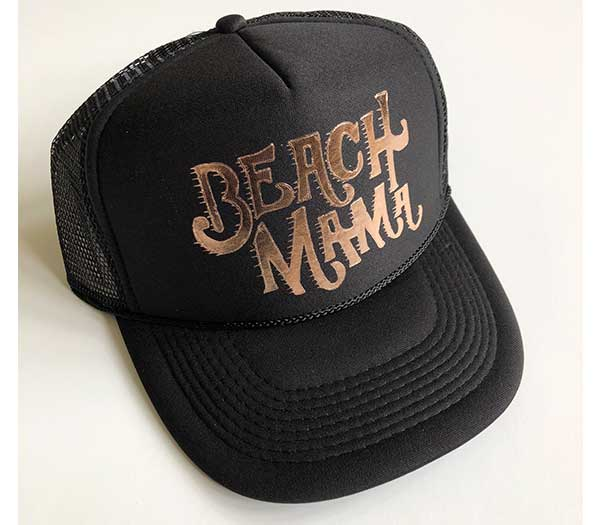 Beach Mama Trucker Hat