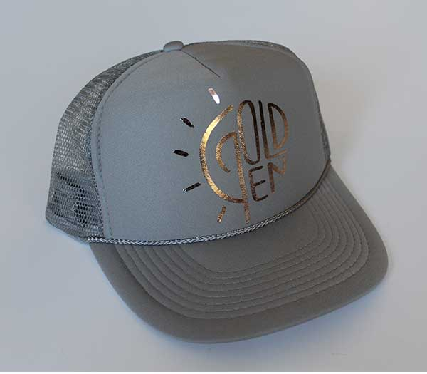 Golden Trucker Hat