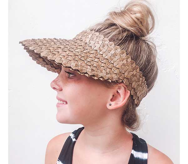 Kids Playa Straw Visor