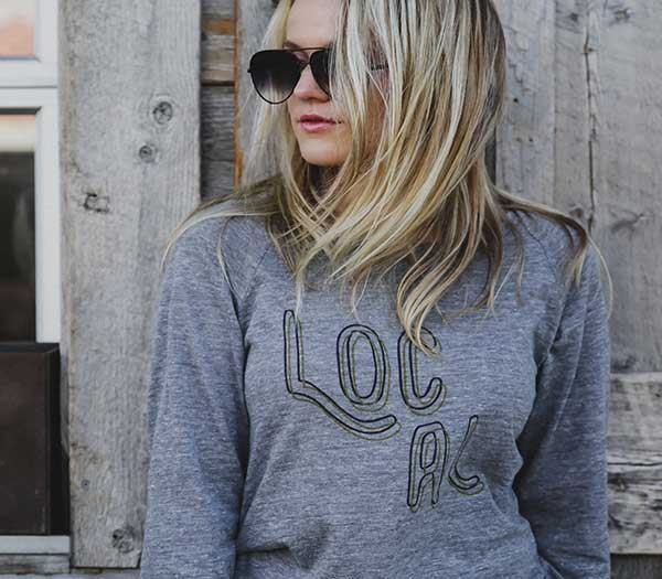 Local L/S Slouchy Pullover