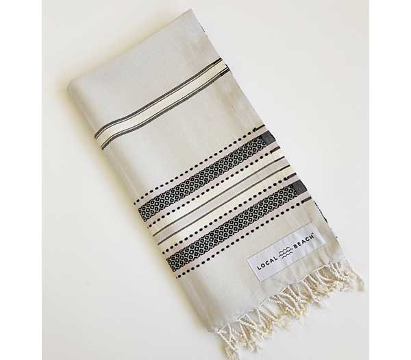 Seaside Towel Grey