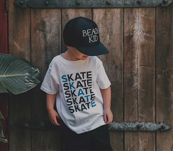 Skate Stack  Toddler/Kids Tee