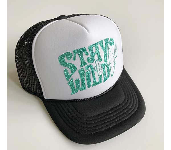Stay Wild YOUTH Trucker Hat