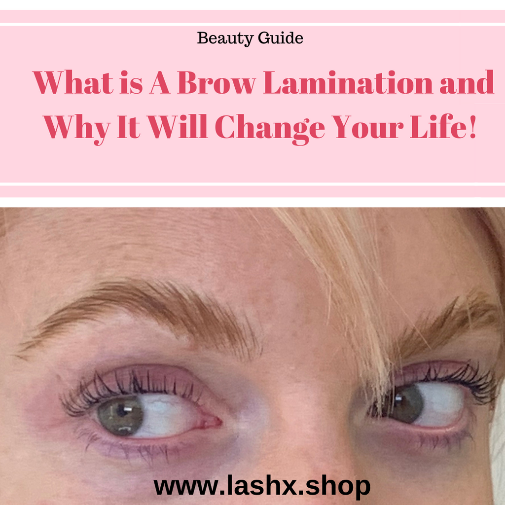 What is Brow Lamination and Why You Need One I Brow Lamination Life Changer