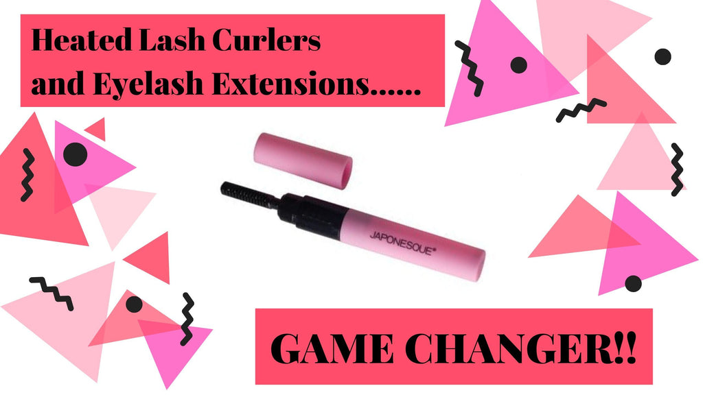 Heated lash curler tips