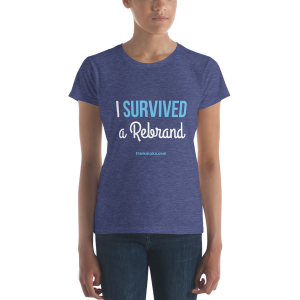 I Survived a Rebrand Women's T-shirt