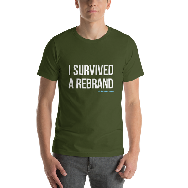 I Survived a Rebrand Unisex T-Shirt