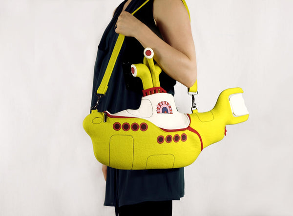 Yellow Submarine Bag Beatles Leather Bag
