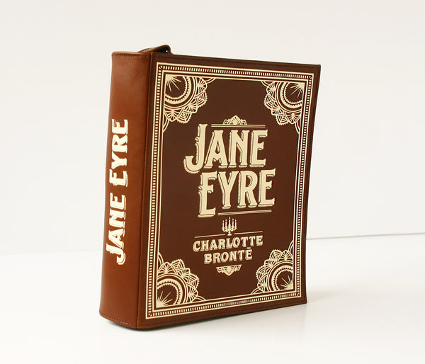 Jane Eyre Leather Book Purse