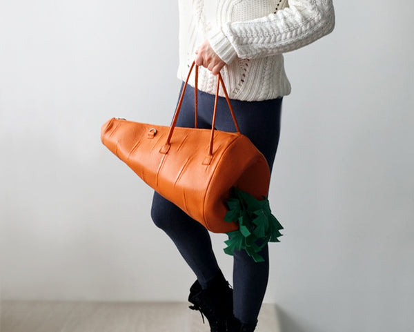 Carrot Bag Carrot Purse