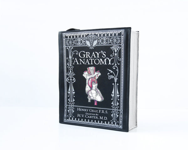 Gray's Anatomy Book Purse