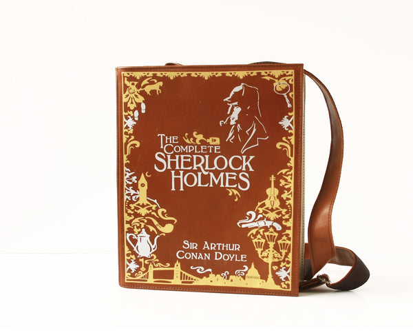 Sherlock Holmes Leather Book Purse