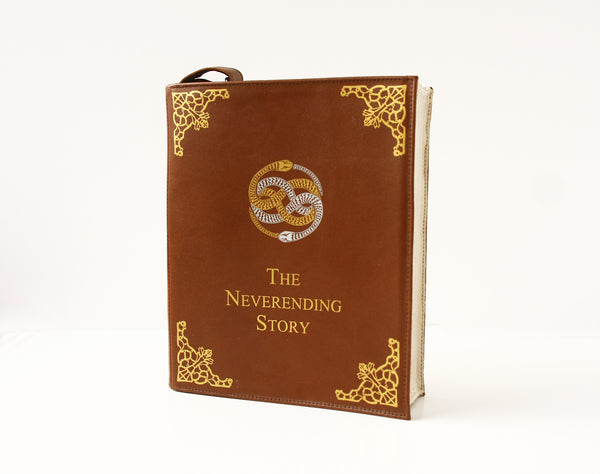 The Neverending Story Leather Book Purse