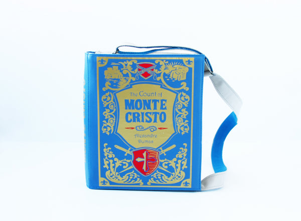 The Count of Monte Cristo Leather Book Purse