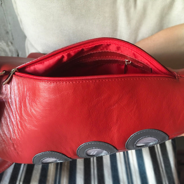 Red Rocket Bag Rocket Purse