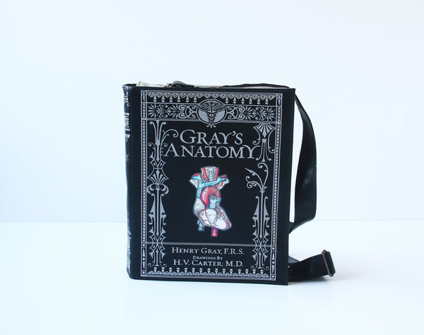 Gray's Anatomy Leather Book Purse