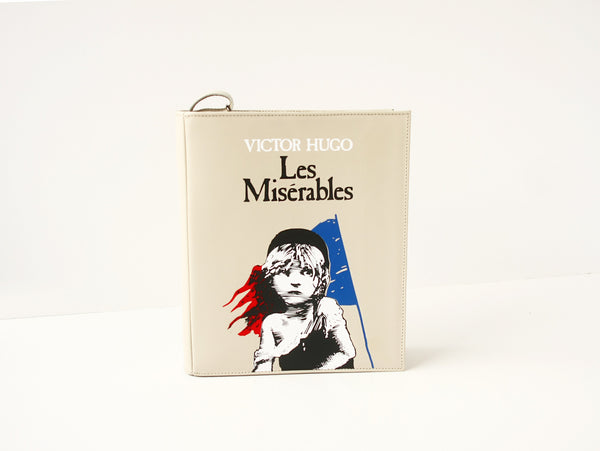 Les Miserables Leather Book Purse