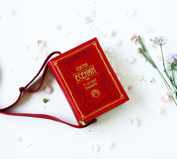 Sergey Esenin Book Purse