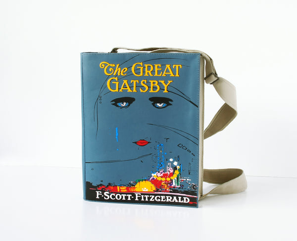 The Great Gatsby Leather Book Bag