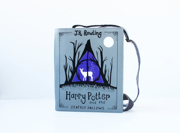 Harry Potter and the Deathly Hallows Leather Book Purse