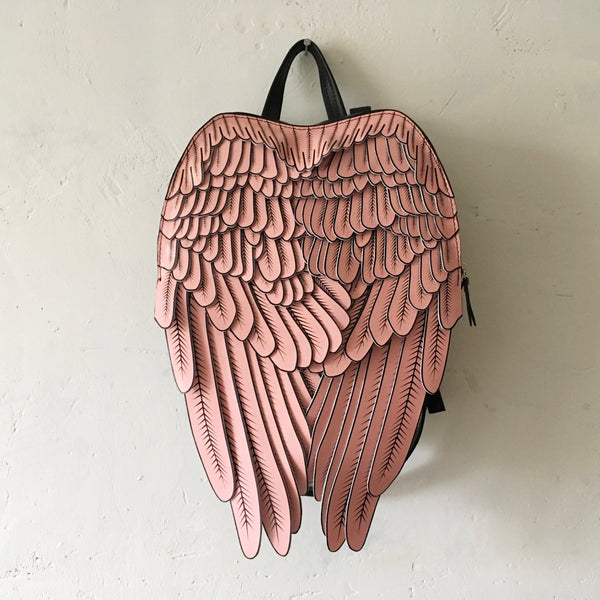 Pink Angel Wings Backpack Pink Wings Backpack