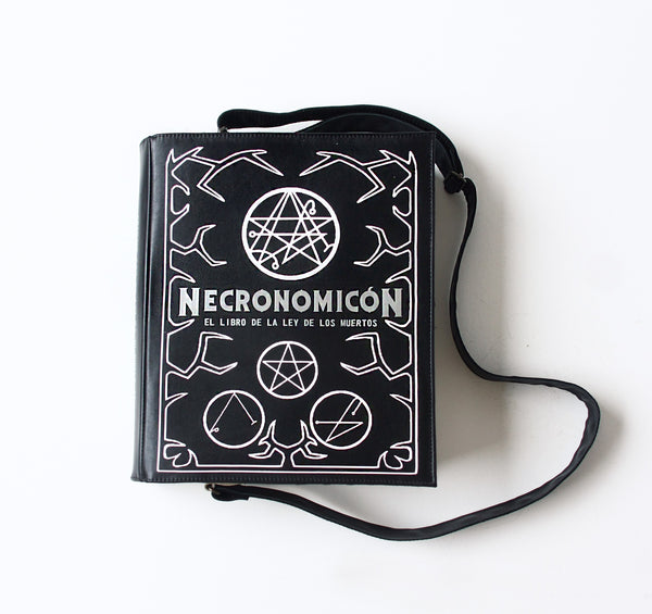 Necronomicon Leather Book Purse