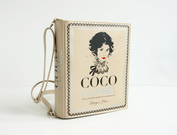 Coco Chanel Book Purse