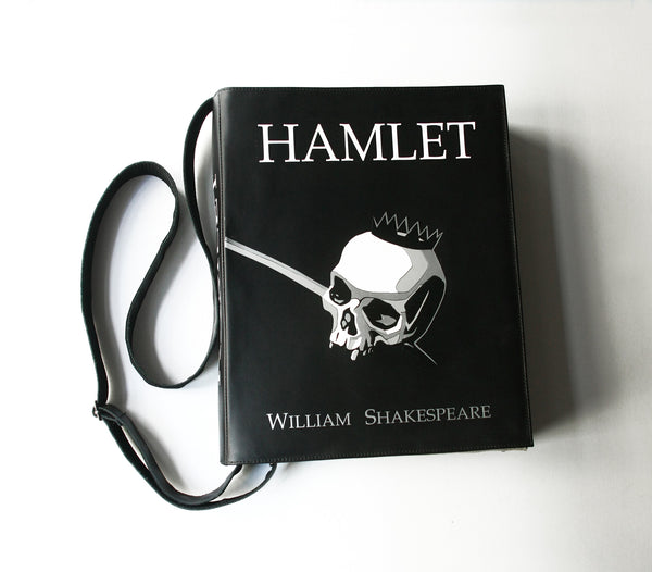 Hamlet Leather Book Purse