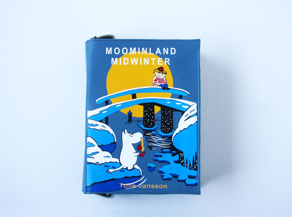 Moominland Winter Leather Book Purse