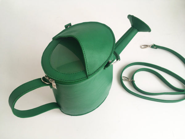 Watering Can Bag Watering Pot Bag Red Leather Watering Can Bag