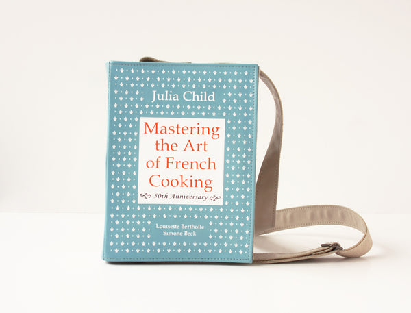 Julia Child Leather Book Purse