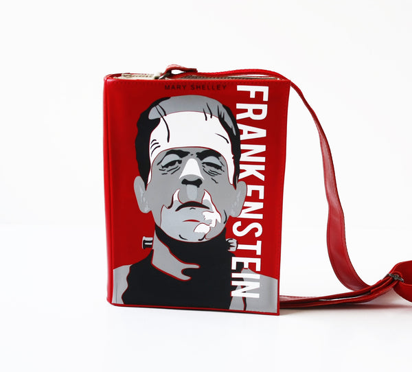 Frankenstein Leather Book Purse