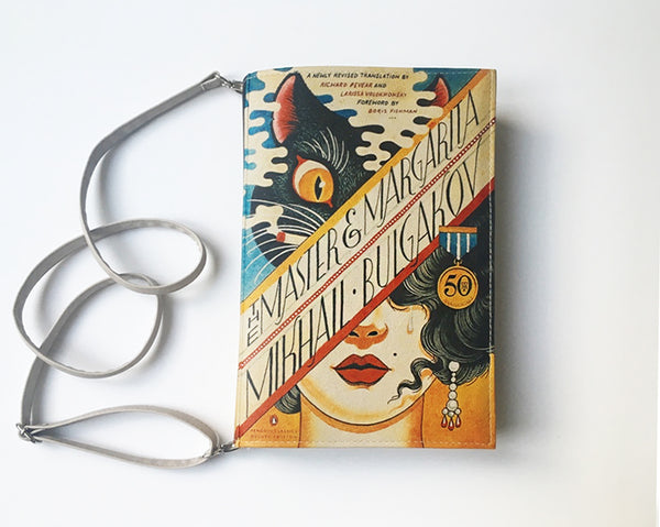 Mikhail Bulgakov Book Cover Bag The Master and Margarita Book Bag