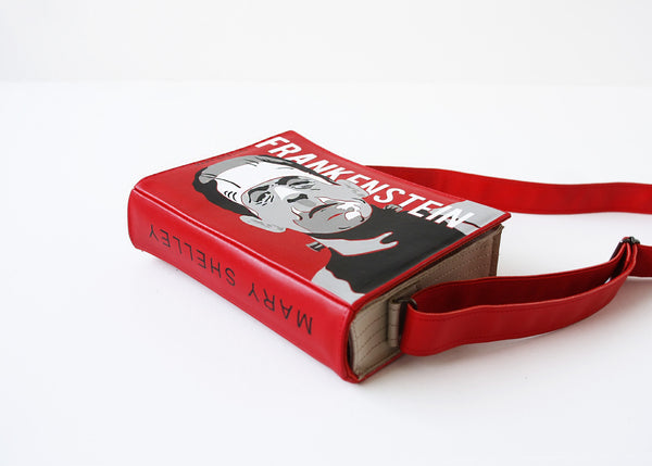 Frankenstein Book Purse