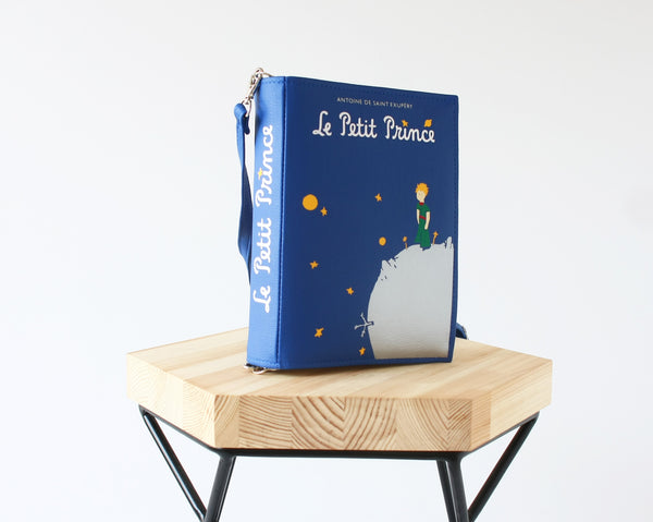 The Little Prince Faux Leather Book Bag