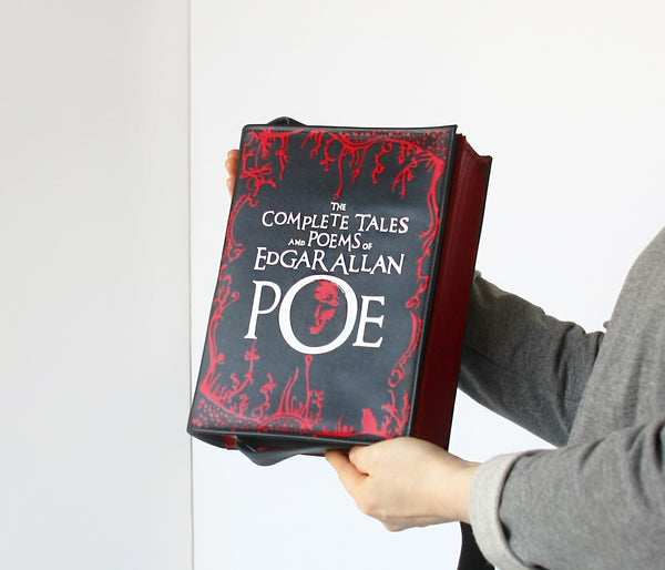 Edgar Poe Book Purse
