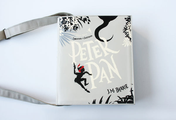 Peter Pan Leather Book Purse