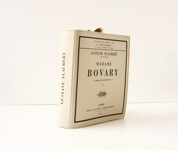 Madame Bovary Leather Book Purse