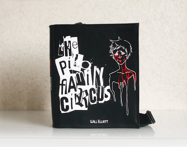 The Pilo Family Circus Leather Book Purse