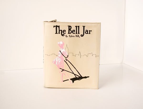 The Bell Jar Leather Book Purse